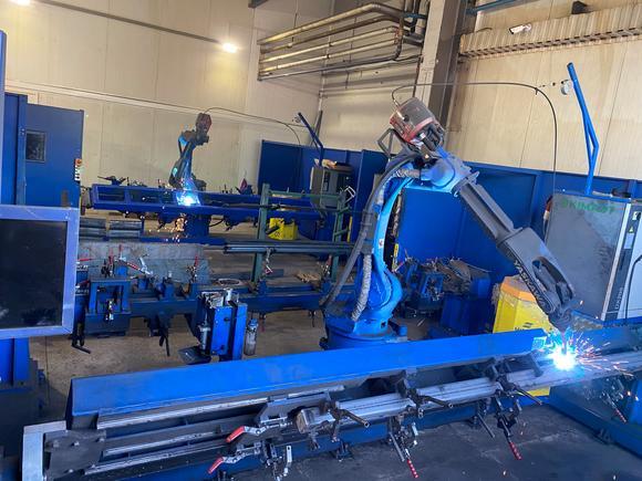 Ещё один робот на производстве STEELBEAR